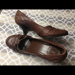 Vintage Leather Naturalizer with New Soles